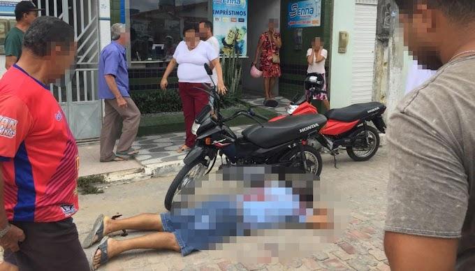 Cigano é assassinado a tiros no centro de Quixabeira