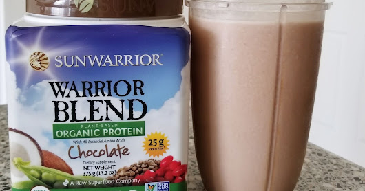 Warrior Blend Plant Based Protein by SunWarrior