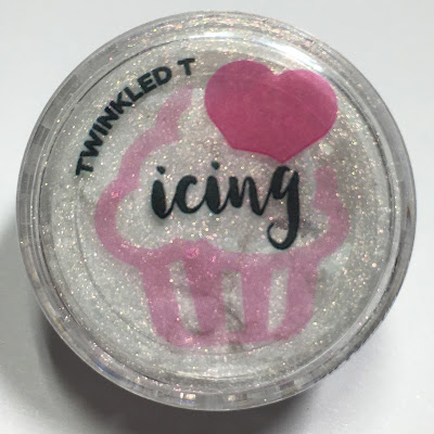 TwinkledT Icing Powder Swatches and Review