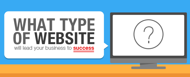 types of website image