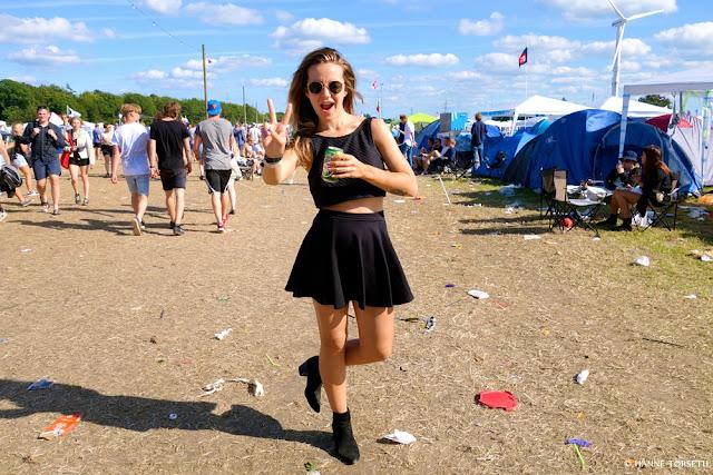 Hanne Tørseth - at Roskilde festival