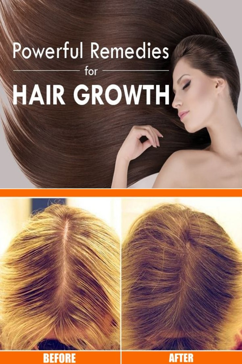 Powerful Remedies For Hair Growth