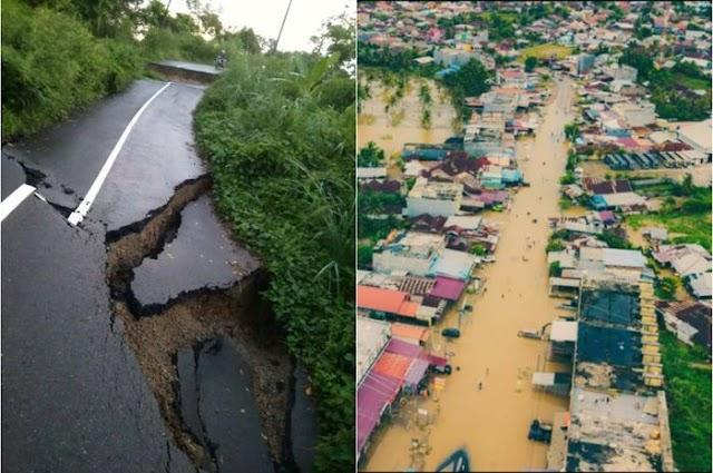 Belum Usai Derita Banjir dan Longsor di Bengkulu, Gempa 5,3 SR Ikut Menerjang