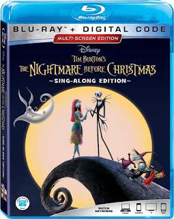 Disney The Nightmare Before Christmas 25th Anniversary on Digital & Blu-ray September 2