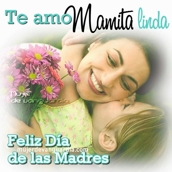 Deseos de feliz dia para mama