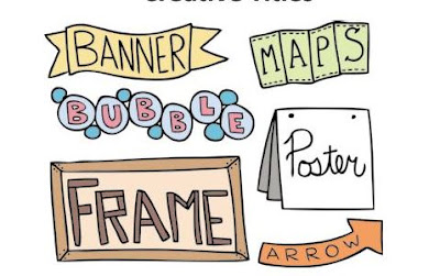 contoh judul kreatif doodle art