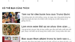 Reactions dạng Facebook kết hợp Recommendations cho blogspot