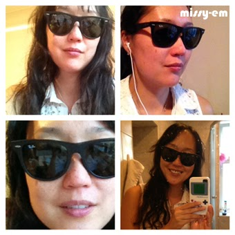 7cf9d1fb24 Likes To Shop Not Spend Alot  Rayban Wayfarer 2140-A Asian Fit. Yes ...