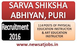 sarva+shiksha+abhiyan+puri+recruitment+2016