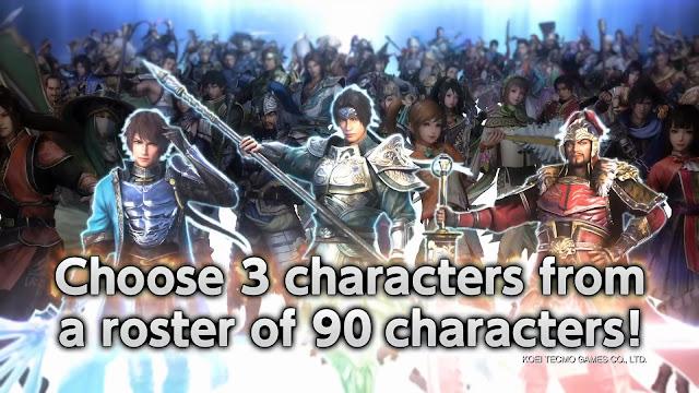 เกมสามก๊ก Dynasty Warriors 9 Trial