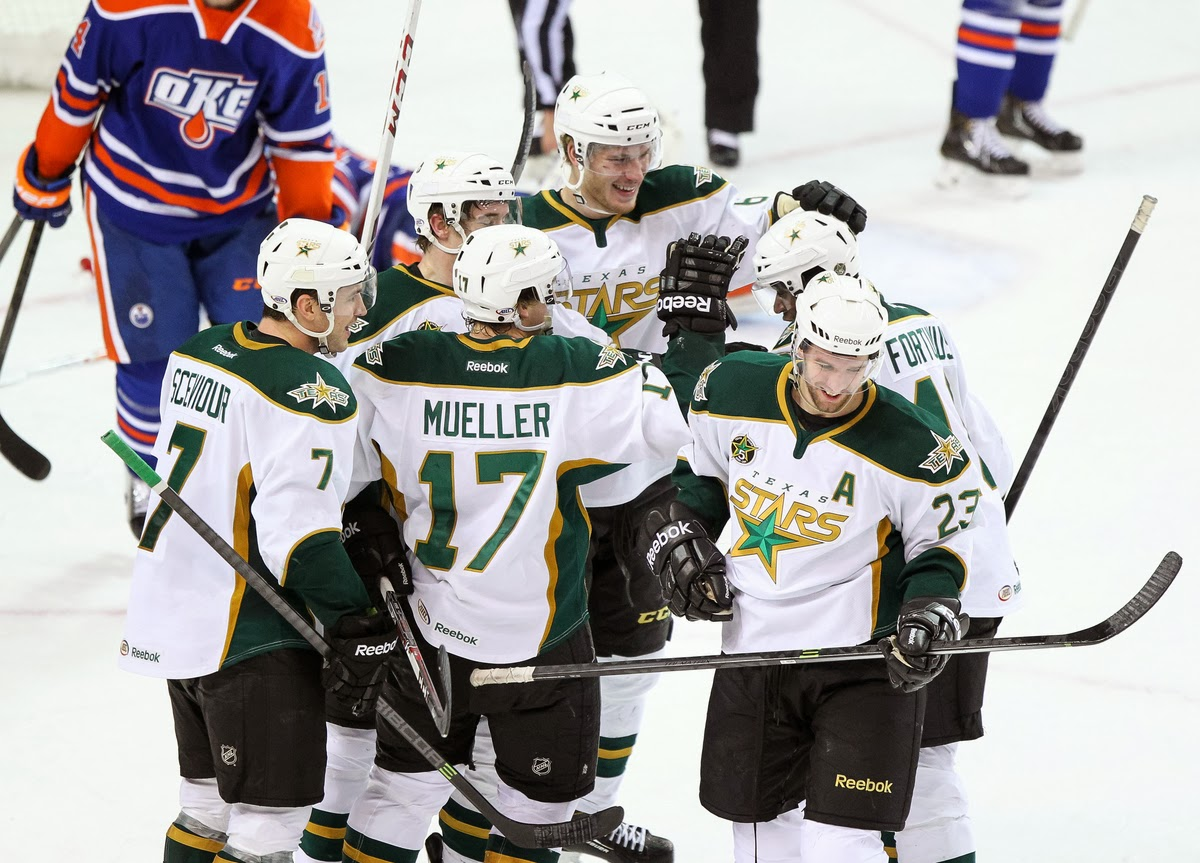 Mueller Nets Hat Trick As Texas Scores Five Unanswered To Beat Okc 6-5 In Ot