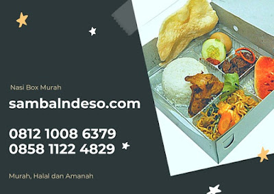 harga Nasi Box Tangerang Selatan Banten