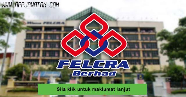 Jawatan Kosong di FELCRA Berhad.