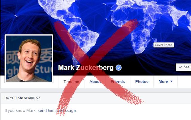 العرب يخترقون حساب مارك زوكربيرج