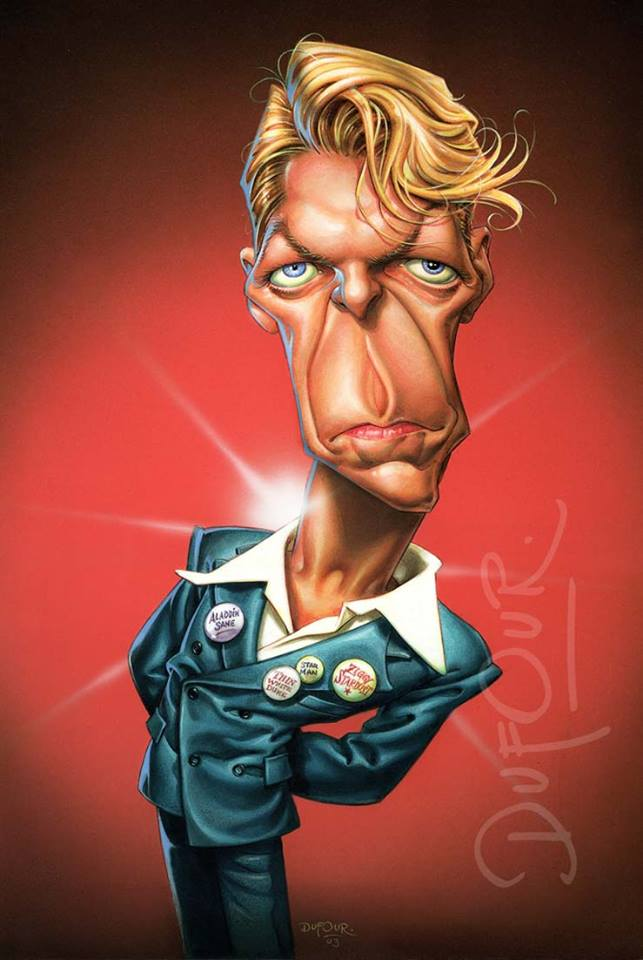David Bowie por Santiago Dufour