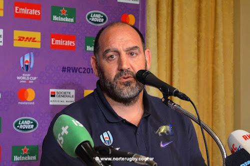 Mario Ledesma, head coach de Los Pumas #RWC2019