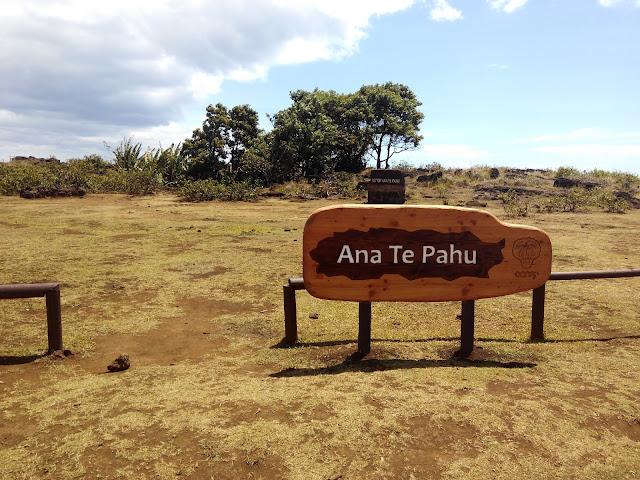 Ana Te Pahu, Isla de Pascua