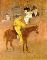 Le picador de Pablo Picasso, óleo sobre lienzo, 1890 (primera obra del pintor)