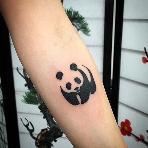 küçük panda dövmesi small panda tattoo