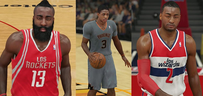 NBA 2K15 Phoenix Rising & Latin Nights Jerseys