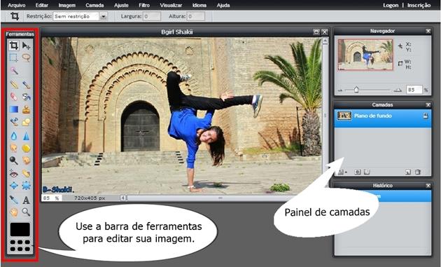 editor do photoshop