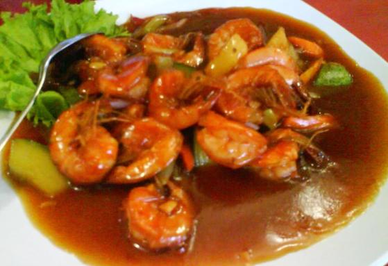 Resep udang saus asam manis sederhana