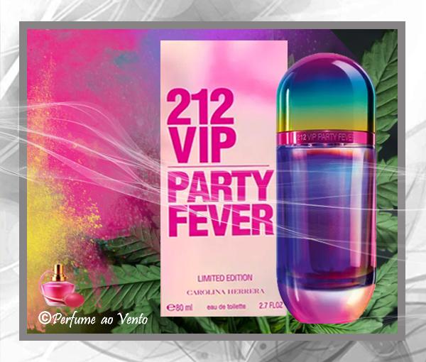 212 VIP PARTY FEVER - Feminino. Segundo a marca, o perfume traz uma  fragrância refrescante, aquática, sofisticada, sensual e explosiva ao mesmo  tempo. c3304865b5