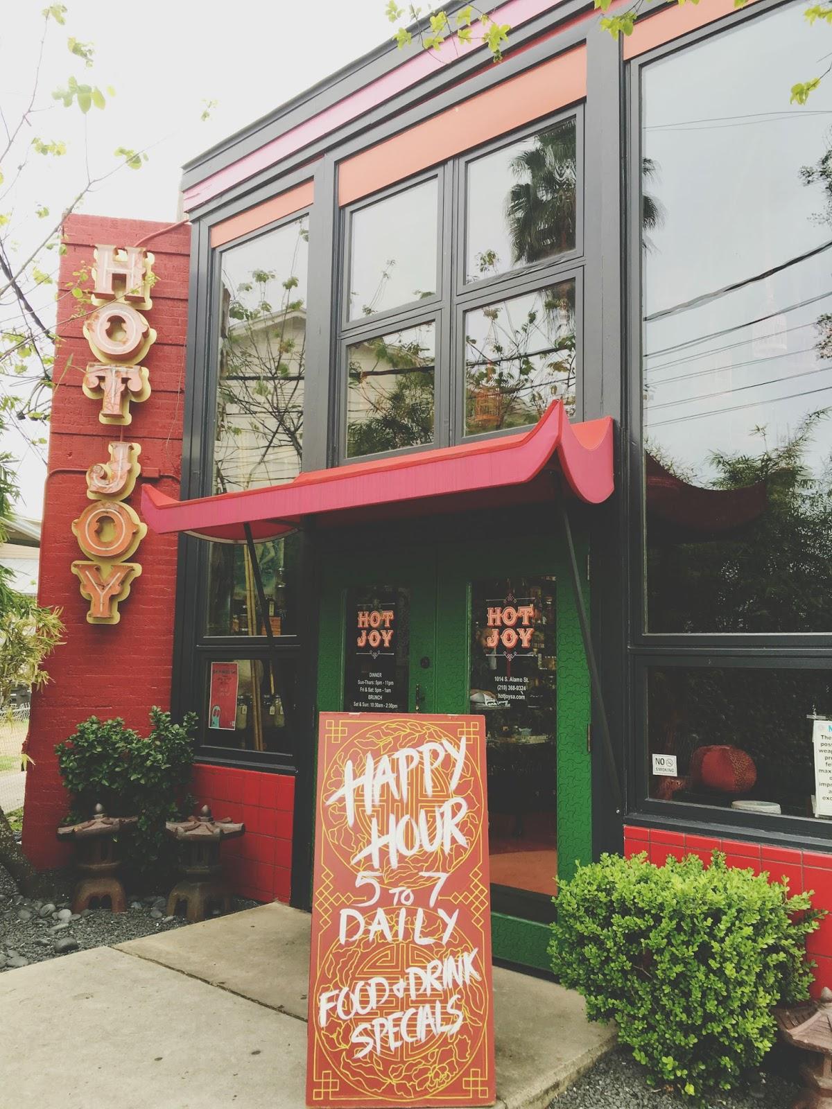 Hot Joy - a restaurant in San Antonio, Texas