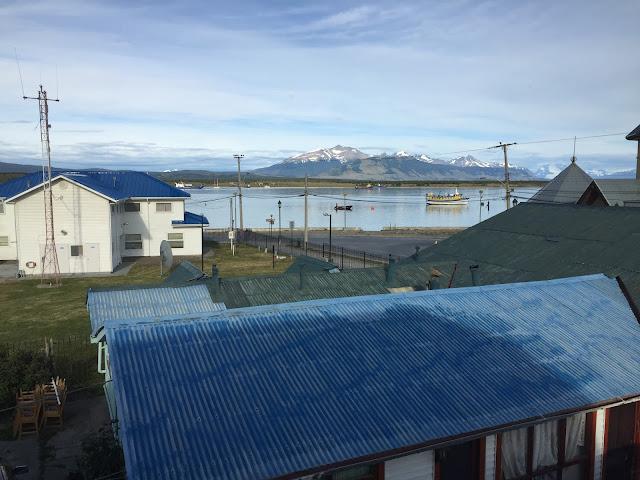 Puerto Natales desde Hotel El Muelle