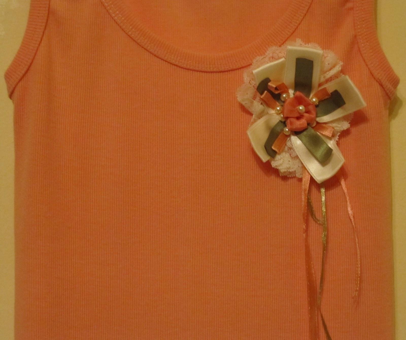 c852c0909f9a Μια από τις αγαπημένες μου ασχολίες. Να μετατρέπω απλά μπλουζάκια σε χαριτωμένα  ρούχα.
