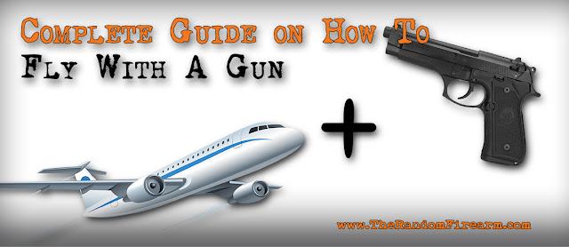 how to bring a gun on a plane, tsa, flying with a gun, airport