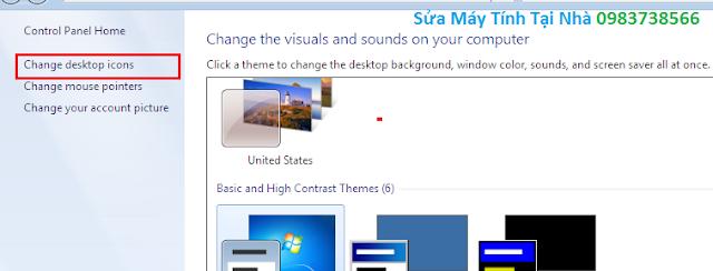 Đưa biểu tượng my computer ra desktop - H05