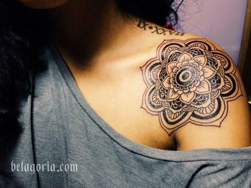 Foto de un Tatuaje de Mandala