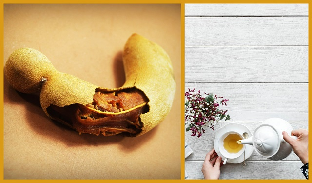 Make Fresh Tamarind Ginger Tea