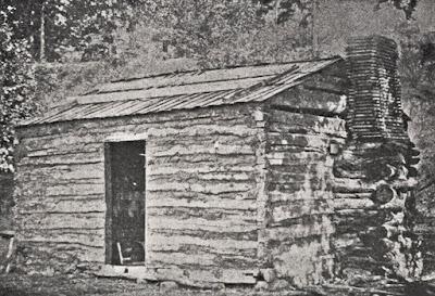 Small log house