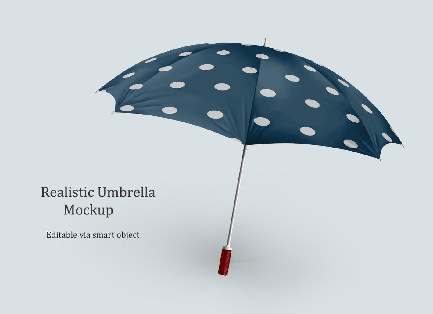 Realistic Umbrella Free Mock-Up