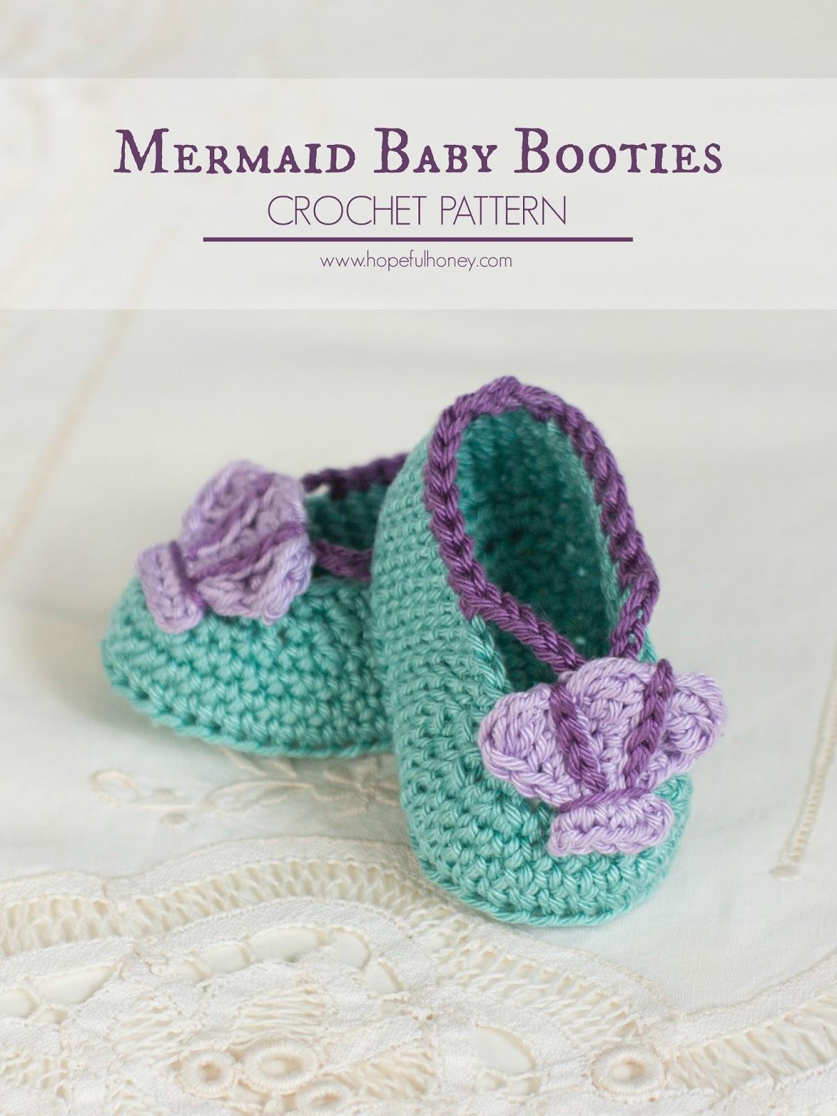 Free Crochet Pattern Newborn Mermaid : Hopeful Honey Craft, Crochet, Create: Mermaid Baby ...