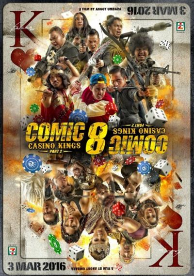 Comic 8 Casino Kings Part 2 2016 Full Movie