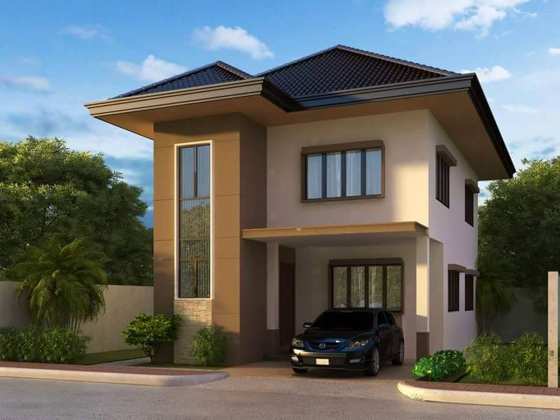 30 images of some of the most beautiful two story house for Small house design worth 300 000 pesos