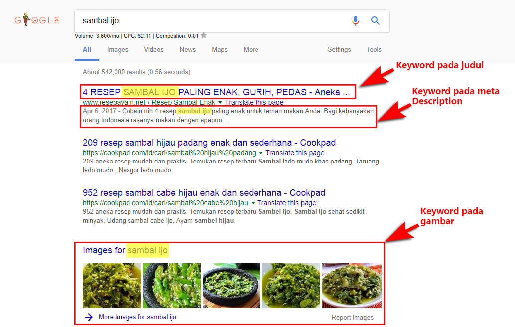 Contoh Seo Off Page