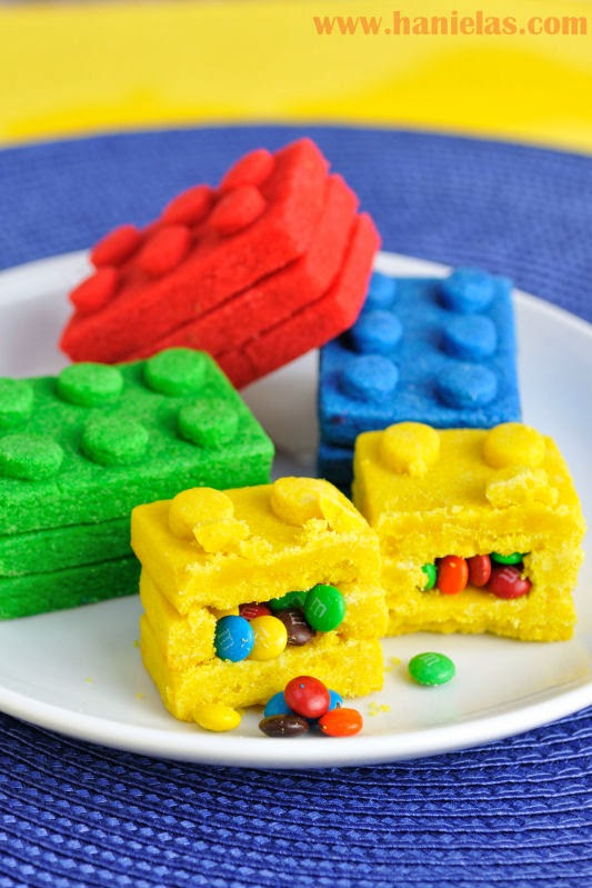 Green Cake Bricks