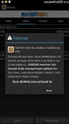 cara bobol situs diblokir di android
