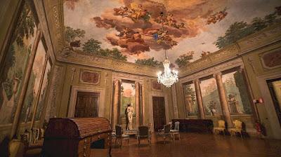 Villa Poggio Imperiale in Florence, Italy