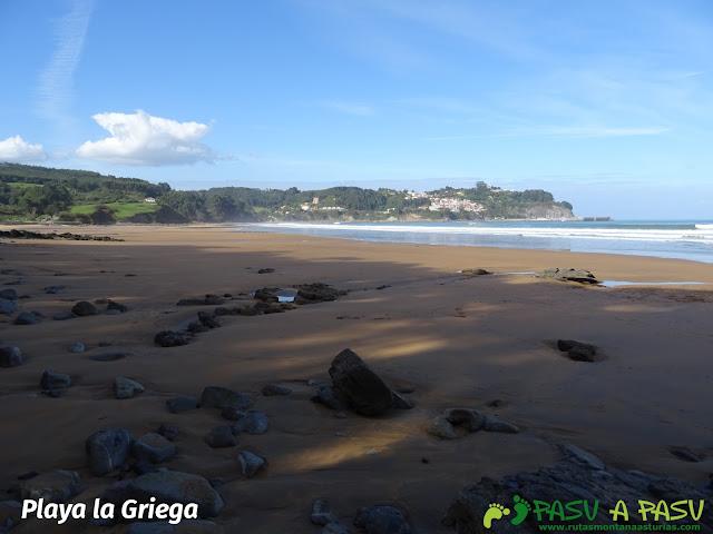Ruta de los Misterios del Mar: Playa de la Griega