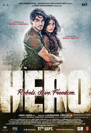 Hero 2015 Hindi 720p WEB HDRip 900mb