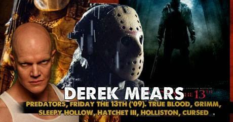 'Jason Voorhees' Actor Derek Mears Gets Spooky This ...