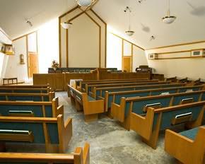 empty chapel