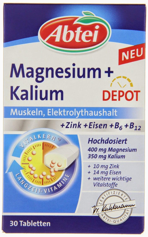 magnesium tabletten und magnesium pillen hochdosiert kaufen abtei magnesium kalium. Black Bedroom Furniture Sets. Home Design Ideas