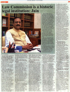 Law Commission is a historic legal institution: Jain