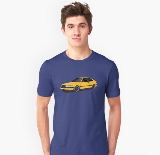 Saab 900 (NG900) t-shirts